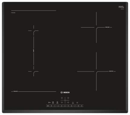 Встраиваемая варочная панель индукционная Bosch PVS651FB5E Black