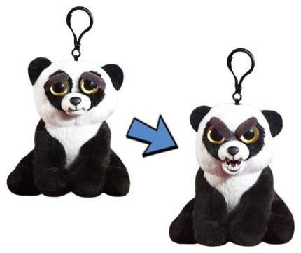 Мягкая игрушка Abtoys Панда чёрно-белая, Feisty Pets, 11 см с карабином