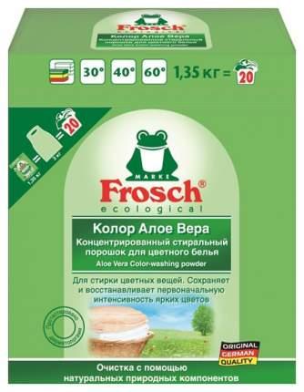 Стиральный порошок  Frosch для цветного белья алоэ-вера 1.35 кг