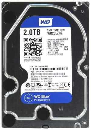 Внутренний жесткий диск Western Digital Blue 2TB (WD20EZRX)