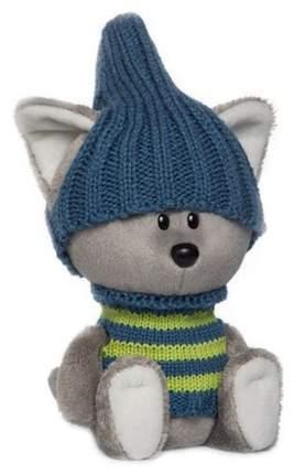 Мягкая игрушка Budi Basa Волчонок Вока в шапочке и свитере 15 см