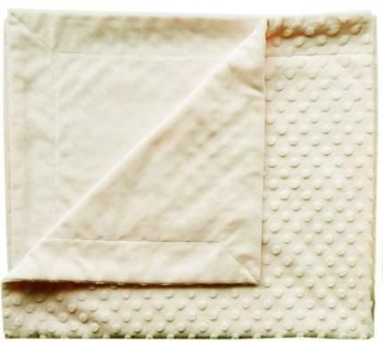 Плед Папитто двуслойный вельбоа рельефный Экрю 82*92 11-092