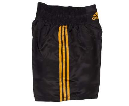 Шорты боксерские Adidas Multi Boxing Shorts черно-золотые XS