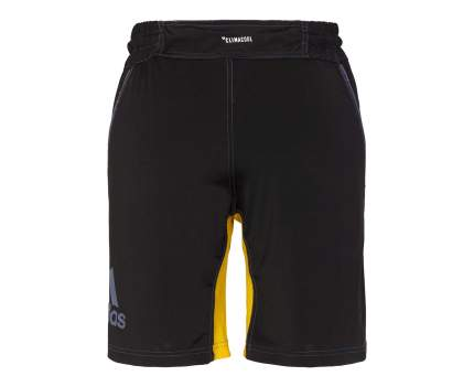 Шорты Adidas Training Short MMA, black/yellow, L INT