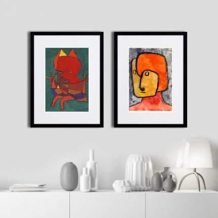 Коллекция PRETENDER & FIGURINE SMALL FIRE DEVIL (из 2-х картин), Картины в Квартиру