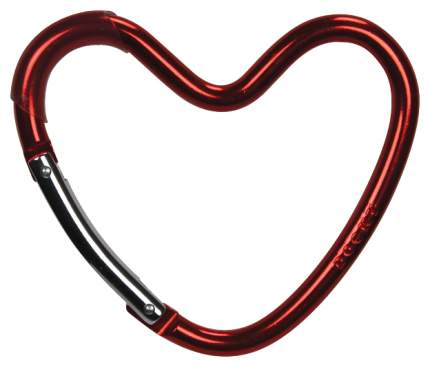 Крепление Dooky-Xplorys для сумок Dooky Heart Hook Красное