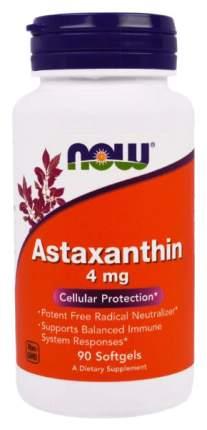 Для зрения NOW Astaxanthin 4 мг 90 капсул