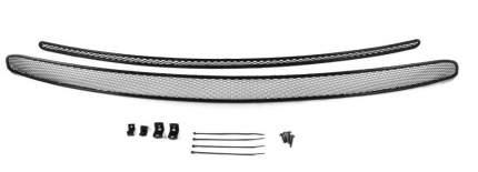Сетка на бампер внешняя arbori для VW Amarok 2016-, 2шт., черная, 10 мм