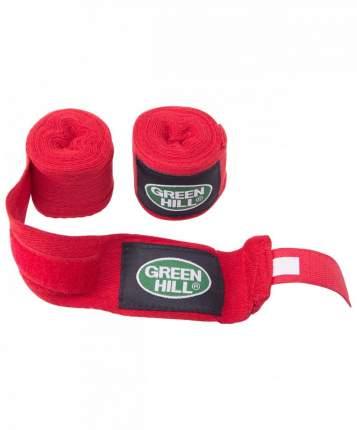 Бинт боксерский Green Hill BC-6235c, 3,5м, х/б, красный