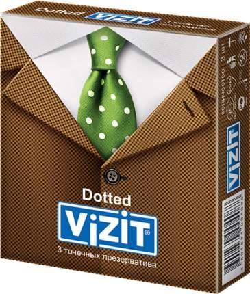 Презервативы Vizit Dotted 3 шт.