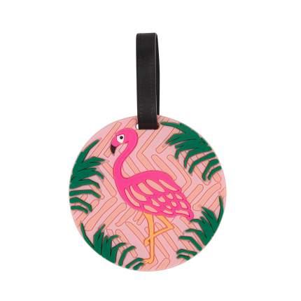 Бирка для багажа Kawaii Factory Flamingo