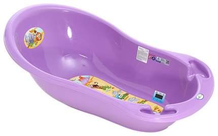 ТЕГА Ванна овальная 86см SAFARI (САФАРИ) фиолетовый SF-004-128