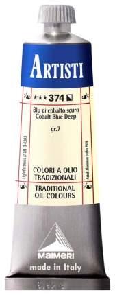 Масляная краска Maimeri Artisti кобальт синий темный 40 мл