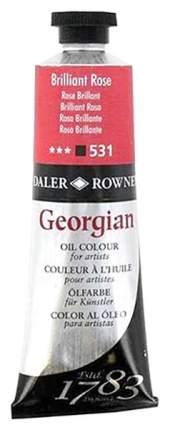 Масляная краска Daler Rowney Georgian розовый бриллиантовый 75 мл