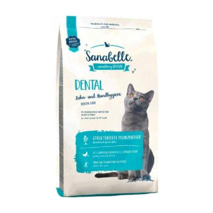 Сухой корм для кошек Bosch Sanabelle Dental, домашняя птица, 10кг