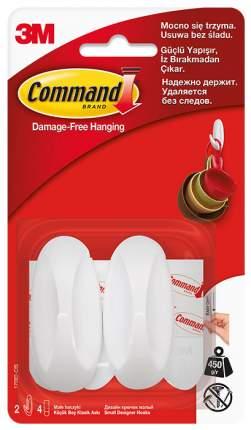 3M Дизайн-крючок белый Command® малый 2 шт (17082)