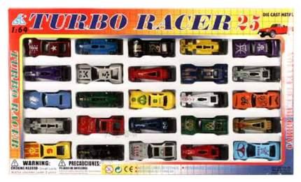 Наборы игрушечного транспорта Global Way Shares City Racer 25 гоночных машинок