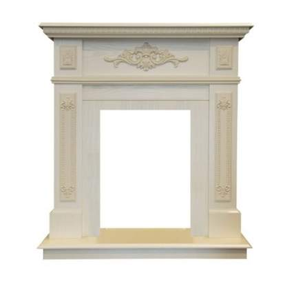 Деревянный портал для камина Real-Flame Lilian STD/EUG WT