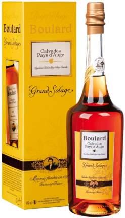 Кальвадос Boulard  Grand Solage  Pays d'Auge AOC gift box 0.7 л
