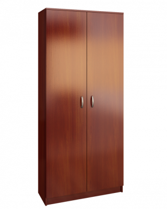 Платяной шкаф MFMaster Ольга (898) МСТ-ПДО-Ш2-ОИ-98 89х35х200, орех