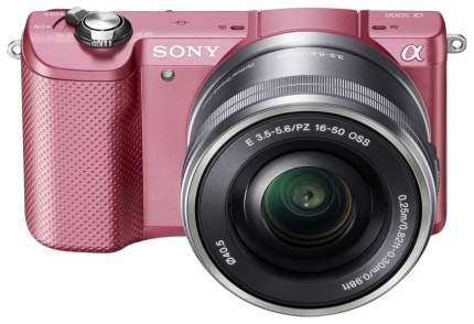 Фотоаппарат системный Sony Alpha A5000 Kit 16-50 Pink