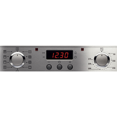 Встраиваемый электрический духовой шкаф Electrolux EOB53100X Silver