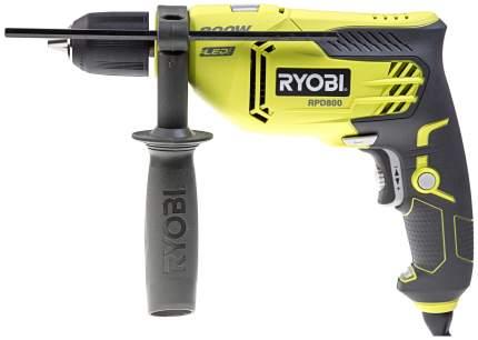 Сетевая ударная дрель Ryobi RPD800K 800W PERCUSSION DRILL EU 5133002018