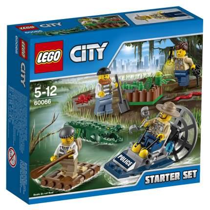 Конструктор LEGO City Police Набор Новая Лесная Полиция для начинаю (60066)