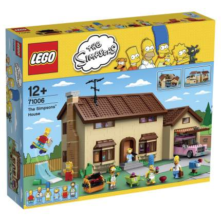 Конструктор LEGO Simpsons Дом Симпсонов (71006)
