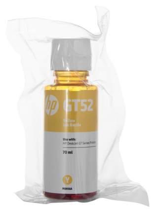 Чернила для струйного принтера HP GT52 (M0H56AE) желтые, оригинал