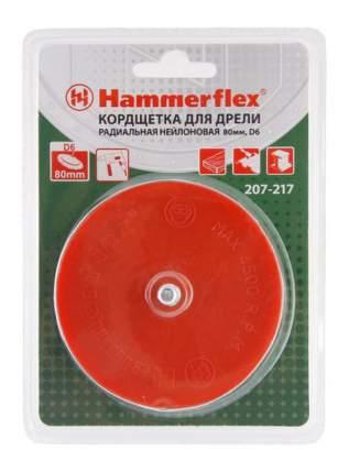Чашечная кордщетка для дрелей, шуруповертов Hammer Flex 207-217 (62133)