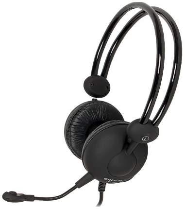 Игровые наушники Crown CMH-942 Black