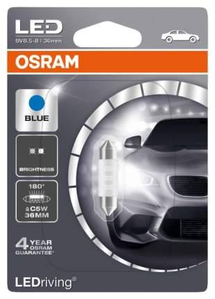 Лампа светодиодная автомобильная OSRAM 12V 0.5W 12V SV8.5-8 (6436BL-01B)