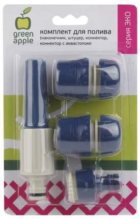 Комплект для полива Green Apple GAKP01-94 синий/черный