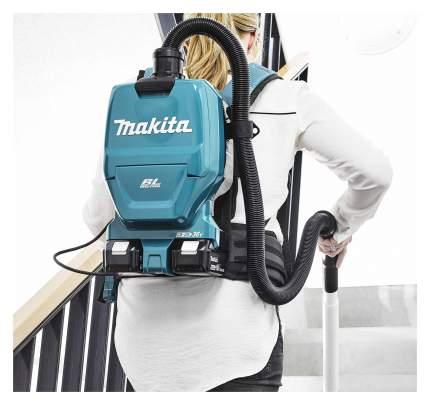 Строительный пылесос с пылесборником Makita DVC260Z 185514 Синий, черный