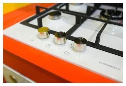 Встраиваемая варочная панель газовая MAUNFELD MGHG 43 12W White