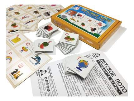Семейная настольная игра Азбука тойс Лото Русский алфавит