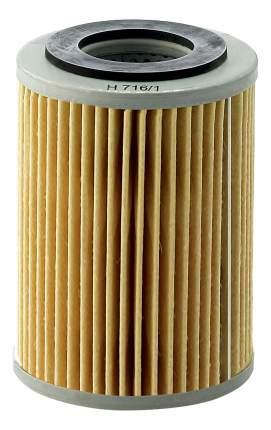 Фильтрующий элемент масляного фильтра MANN-FILTER H716/1X
