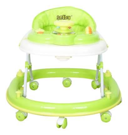Ходунки детские Тополь Selby BS-300 (3) салатовый/белый