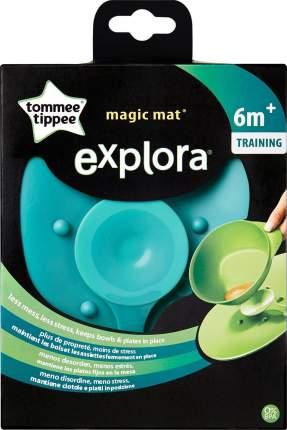 Коврик Tommee Tippee для тарелок зелёный