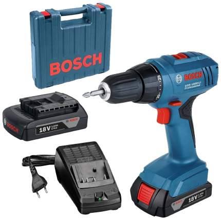 Аккумуляторная дрель-шуруповерт Bosch GSR 1800-Li 1,5 Ач 06019A8305