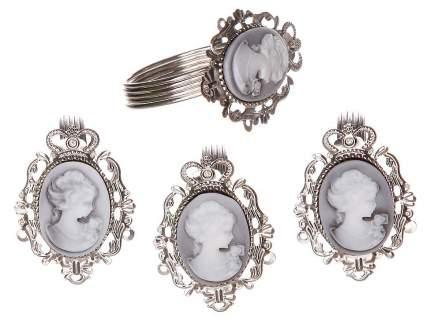 Кольцо для салфетки Камея 4 шт, 5 см 2705856