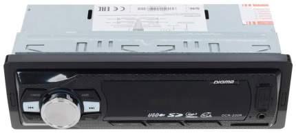 Автомобильная магнитола Digma DCR-200R 4x22Вт