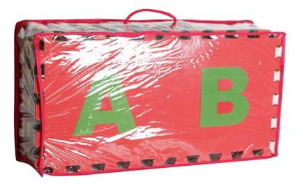 Мягкий коврик-пазл Eco Cover Алфавит английский