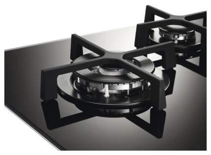 Встраиваемая варочная панель газовая Electrolux EGT56142NK Black
