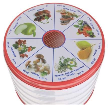 Сушилка для овощей и фруктов Чудесница СШ-006 white/red