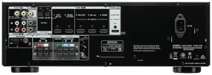 AV Ресивер Denon AVR X550BT BKE2