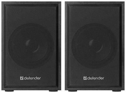 Колонки для компьютера DEFENDER SPK-250 Вlack 2x4 Вт, USB