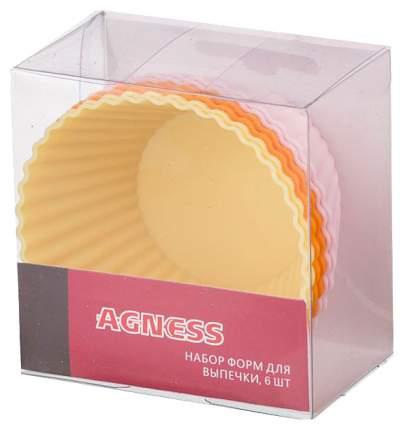 Набор форм Agness 710-270 Желтый, оранжевый, лиловый