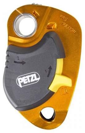 Блок с фиксатором Petzl Pro Traxion Оранжевый